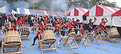 支援通信① 伝統芸能・「松圃(まつばたけ)虎舞」チーム招待 ―気仙沼市立中井小学校―