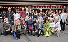 日本語教室 交流サロン 日本語学習者が歌舞伎を見学!