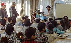 ユネスコ理数教室  電波の不思議~電池がなくても光るLEDと聞こえるラジオ