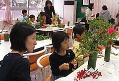伝統文化親子教室 「 華 道 」 平成27年度文化庁助成事業