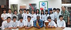 第7回伊賀市立崇広中学生来訪  ようこそ目黒ユ協へ