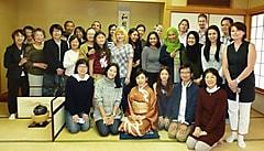 日本語教室交流サロン2016年秋期   茶道体験「はじめてのお茶」