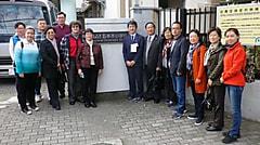 北京市ユネスコ会員が五本木小学校へ