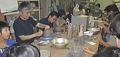 伝統文化親子教室「陶 芸」文化庁助成事業