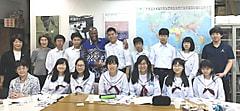 第10回崇広中学修学旅行生来訪「トーゴ共和国から出前授業」