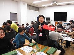 国際交流ひろば 日本文化紹介「和紙に親しむ」