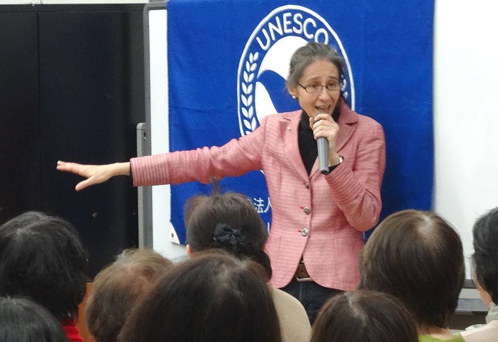 ユネスコ文化講座(1) 「元NHKラジオ英語講師 リサが伝授!異文化交流の楽しみ方と会話術」